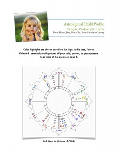Sample child astrology profile