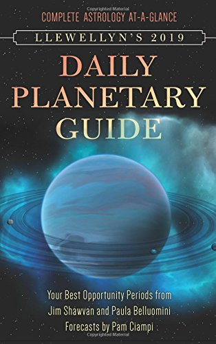 Book Cover: Llewellen's 2019 Daily Planetary Guide