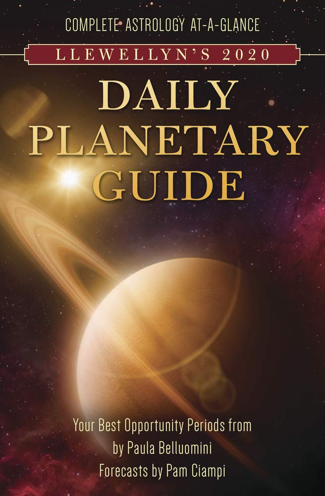 Book Cover: Llewellen's 2020 Daily Planetary Guide