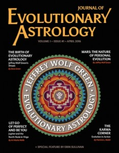 Cover: Journal of Evolutionary Astrology