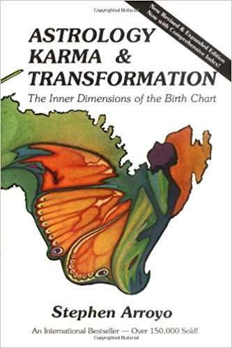 Book Cover: Astrology, Karma & Transformation: The Inner Dimensions of the Birth Chart by Stephen Arroyo