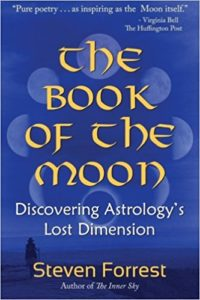 Cover: The Book of the Moon. Steven Forrest