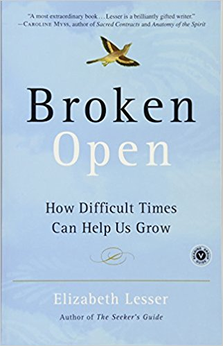 Book Cover: Broken Open. Elizabeth Lesser