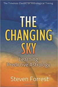 Cover: The Changing Sky. Steven Forrest