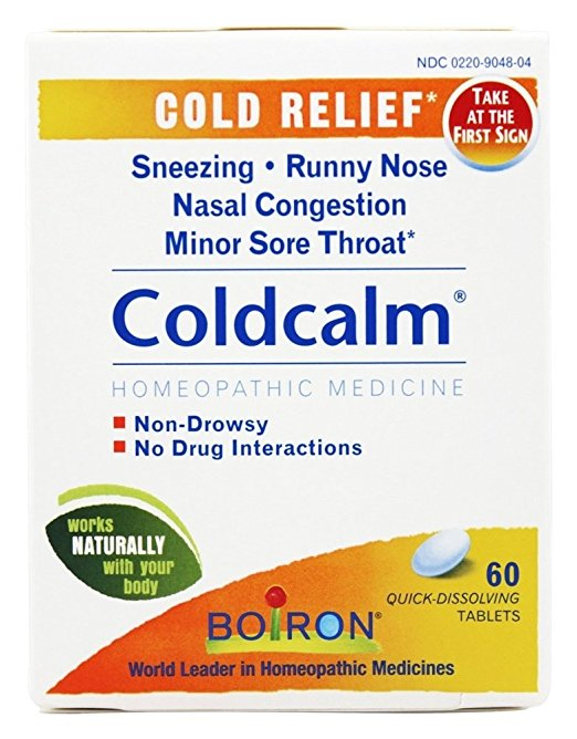 Coldcalm Homeopathic Remedy
