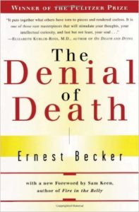 Book Cover: The Denial of Death by Ernest Becker