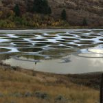 Spotted Lake near Osoyoos, BC, reminds me of Jupiter in Scorpio