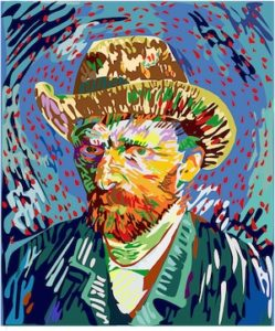 Vincent Van Gogh image found on www.pixabay.com