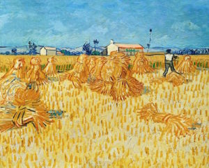 Harvest in Provence. Van Gogh. Found on www.pixabay.com