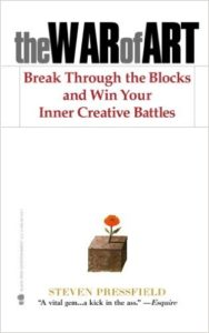 Book Cover: The War of Art: Break Through the Blocks and Win Your Inner Creative Battles Paperback by Steven Pressfield